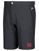 Black Golf 3 Stripe Shorts Adi Nebraska Cornhuskers, Nebraska  Mens Shorts & Pants, Huskers  Mens Shorts & Pants, Nebraska Shorts & Pants, Huskers Shorts & Pants, Nebraska Black Golf 3 Stripe Shorts Adi, Huskers Black Golf 3 Stripe Shorts Adi