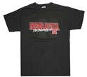Black The University of N Tee Nebraska Cornhuskers, Nebraska  Other Sports, Huskers  Other Sports, Nebraska  Short Sleeve, Huskers  Short Sleeve, Nebraska  Kids, Huskers  Kids, Nebraska  Youth, Huskers  Youth, Nebraska Black NE The University of Russell, Huskers Black NE The University of Russell