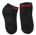 Black Nebraska No Show Sock Nebraska Cornhuskers, Nebraska  Footwear, Huskers  Footwear, Nebraska  Underwear & PJ%27S, Huskers  Underwear & PJ%27S, Nebraska  Ladies Accessories, Huskers  Ladies Accessories, Nebraska  Mens Accessories , Huskers  Mens Accessories , Nebraska Black Nebraska No Show Sock, Huskers Black Nebraska No Show Sock