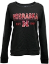 Black Patch Crewneck Nebraska Cornhuskers, Nebraska  Ladies, Huskers  Ladies, Nebraska  Crew, Huskers  Crew, Nebraska  Ladies Sweatshirts , Huskers  Ladies Sweatshirts , Nebraska Black Patch Crewneck, Huskers Black Patch Crewneck