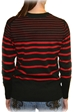 Husker Striped Sleeve Tag Crew - AS-70173