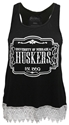 Black Tank with Crochect Trim Nebraska Cornhuskers, Nebraska  Ladies Tops, Huskers  Ladies Tops, Nebraska  Tank Tops, Huskers  Tank Tops, Nebraska  Ladies, Huskers  Ladies, Nebraska Black Tank with Crochect Trim, Huskers Black Tank with Crochect Trim