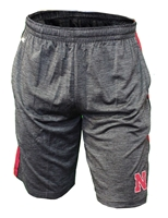 Black Wicket Side Stripe Col Short Nebraska Cornhuskers, Nebraska  Mens Shorts & Pants, Huskers  Mens Shorts & Pants, Nebraska Shorts & Pants, Huskers Shorts & Pants, Nebraska Black Wicket Side Stripe Col Short, Huskers Black Wicket Side Stripe Col Short