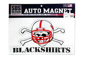 Blackshirts Car Magnet  Nebraska Cornhuskers, husker football, nebraska cornhuskers merchandise, husker merchandise, nebraska merchandise, nebraska cornhuskers vehicle items, husker car stuff, nebraska vehicle items, husker vehicle items, husker auto accessories, nebraska cornhuskers auto accessories, nebraska car accessories, husker car accessories, nebraska cornhuskers car accessories, nebraska cornhuskers truck accessories, husker truck accessories, nebraska truck accessories, blackshirts car magnet