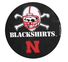 Blackshirts Magnet Nebraska Cornhuskers, Nebraska Stickers Decals & Magnets, Huskers Stickers Decals & Magnets, Nebraska Blackshirts, Huskers Blackshirts, Nebraska Blackshirts Magnet, Huskers Blackshirts Magnet