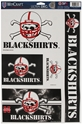 Blackshirts Multi Pack Decals Nebraska Cornhuskers, Nebraska Vehicle, Huskers Vehicle, Nebraska Stickers Decals & Magnets, Huskers Stickers Decals & Magnets, Nebraska Blackshirts, Huskers Blackshirts, Nebraska Blackshirts Mutli PK Decals, Huskers Blackshirts Mutli PK Decals