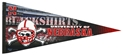 Blackshirts Wool Pennant Nebraska Cornhuskers, Nebraska  Game Room, Huskers  Game Room, Nebraska  Office Den & Entry   , Huskers  Office Den & Entry   , Nebraska Blackshirts Wool Pennant, Huskers Blackshirts Wool Pennant