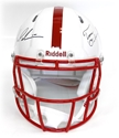 Bo & Tom Signed Revolution/Speed Helmet Nebraska Cornhuskers, husker football, nebraska cornhuskers merchandise, husker merchandise, nebraska merchandise, husker memorabilia, husker autographed, nebraska cornhuskers autographed, nebraska cornhuskers memorabilia, nebraska cornhuskers collectible, Pelini/Osborne Autographed Revolution Helment
