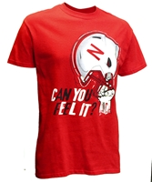 Can You Feel It Huskers Helmet Tee Nebraska Cornhuskers, Nebraska  Mens T-Shirts, Huskers  Mens T-Shirts, Nebraska  Mens, Huskers  Mens, Nebraska  Short Sleeve, Huskers  Short Sleeve, Nebraska Can You Feel It Huskers Tee - Red, Huskers Can You Feel It Huskers Tee - Red