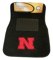 Carpet Auto Mats with Embroidered Iron N Nebraska Cornhuskers, husker football, nebraska cornhuskers merchandise, husker merchandise, nebraska merchandise, nebraska cornhuskers vehicle items, husker car stuff, nebraska vehicle items, husker vehicle items, husker auto accessories, nebraska cornhuskers auto accessories, nebraska car accessories, husker car accessories, nebraska cornhuskers car accessories, nebraska cornhuskers truck accessories, husker truck accessories, nebraska truck accessories, Carpet Auto Mats
