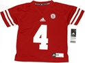 Childrens Nebraska #4 Red Jersey Nebraska Cornhuskers, Nebraska  Kids Jerseys, Huskers  Kids Jerseys, Nebraska  Childrens , Huskers  Childrens , Nebraska Childrens Nebraska #4 Red Jersey, Huskers Childrens Nebraska #4 Red Jersey