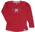 Childrens Go Big Red Huskers Swirl Long Sleeve Nebraska Cornhuskers, Nebraska  Childrens, Huskers  Childrens, Nebraska  Kids, Huskers  Kids, Nebraska Childrens Go Big Red Huskers Swirl Long Sleeve, Huskers Childrens Go Big Red Huskers Swirl Long Sleeve