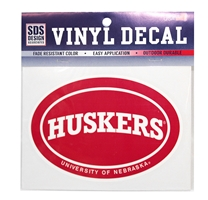 Circle Huskers Script Decal Nebraska Cornhuskers, Nebraska Vehicle, Huskers Vehicle, Nebraska Stickers Decals & Magnets, Huskers Stickers Decals & Magnets, Nebraska Circular Huskers Script Decal, Huskers Circular Huskers Script Decal