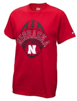 Coach Frost Football Distressed Husker Tee Nebraska Cornhuskers, Nebraska  Mens T-Shirts, Huskers  Mens T-Shirts, Nebraska  Mens, Huskers  Mens, Nebraska  Short Sleeve, Huskers  Short Sleeve, Nebraska  Coach Frost Football Distressed Husker Tee, Huskers  Coach Frost Football Distressed Husker Tee