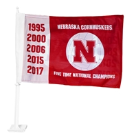 Cornhuskers Five Time Champs Volleyball Car Flag Nebraska Cornhuskers, Nebraska Vehicle, Huskers Vehicle, Nebraska  Flags & Windsocks, Huskers  Flags & Windsocks, Nebraska Volleyball, Huskers Volleyball, Nebraska Cornhuskers Five Time Champs Volleyball Car Flag, Huskers Cornhuskers Five Time Champs Volleyball Car Flag
