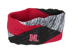 Criss Cross Husker Headband Nebraska Cornhuskers, Nebraska  Ladies Accessories, Huskers  Ladies Accessories, Nebraska  Ladies, Huskers  Ladies, Nebraska  Jewelry & Hair, Huskers  Jewelry & Hair, Nebraska Criss Cross Husker Headband, Huskers Criss Cross Husker Headband