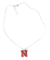Crystal N Pendant Necklace Nebraska Cornhuskers, Nebraska  Ladies Accessories, Huskers  Ladies Accessories, Nebraska  Ladies, Huskers  Ladies, Nebraska  Jewelry & Hair, Huskers  Jewelry & Hair, Nebraska Crystal N Pendant Necklace, Huskers Crystal N Pendant Necklace