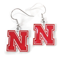Dangle FANtastic Iron N Earrings Nebraska Cornhuskers, Nebraska  Ladies, Huskers  Ladies, Nebraska  Jewelry & Hair, Huskers  Jewelry & Hair, Nebraska  Ladies Accessories, Huskers  Ladies Accessories, Nebraska Dangle FANtastic Iron N Earrings, Huskers Dangle FANtastic Iron N Earrings