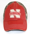 """Dirty"" Camo and Red Adjustable Hat Nebraska Cornhuskers, Nebraska  Ladies Hats, Huskers  Ladies Hats, Nebraska  Mens Hats, Huskers  Mens Hats, Nebraska  Mens Hats, Huskers  Mens Hats, Nebraska  Ladies Hats, Huskers  Ladies Hats, Nebraska Camo, Huskers Camo, Nebraska Dirty Camo/ Red Adjustable Hat, Huskers Dirty Camo/ Red Adjustable Hat"