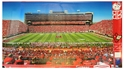 Memorial Stadium Fathead Full-Wall Decal Nebraska cornhuskers, husker football, nebraska cornhuskers merchandise, husker merchandise, nebraska cornhuskers fathead decal, husker fathead decal, Memorial Stadium wall decal