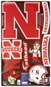 Fathead Husker Assortment Nebraska Cornhuskers, husker football, nebraska cornhuskers merchandise, nebraska merchandise, husker merchandise, nebraska cornhuskers apparel, husker apparel, nebraska apparel, husker youth apparel, nebraska cornhuskers youth apparel, nebraska kids apparel, husker kids apparel, husker kids merchandise, nebraska cornhuskers kids merchandise,FATHEAD LOGOSHEET