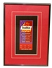 Framed Osborne Signed 1996 Fiesta Bowl Ticket - OK-B7019