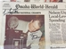 Frazier N Osborne Signed 1994 National Champs OWH Full Newspaper - OK-B7051