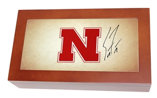 Coach Frost Autographed Husker Humidor Nebraska Cornhuskers, Nebraska  Ladies, Huskers  Ladies, Nebraska  Mens, Huskers  Mens, Nebraska  Office Den & Entry, Huskers  Office Den & Entry, Nebraska  Mens Accessories, Huskers  Mens Accessories, Nebraska  Ladies Accessories, Huskers  Ladies Accessories, Nebraska  Comfy Stuff, Huskers  Comfy Stuff, Nebraska Husker Keepsake Box, Huskers Husker Keepsake Box