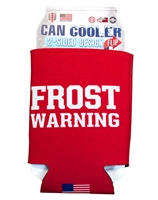 Frost Warning Can Cooler 12 oz Nebraska Cornhuskers, Nebraska  Tailgating, Huskers  Tailgating, Nebraska Welcome Home Coach Frost, Huskers Welcome Home Coach Frost, Nebraska Frost Warning Can Cooler 12 oz, Huskers Frost Warning Can Cooler 12 oz