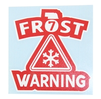 Frost Warning Decal Nebraska Cornhuskers, Nebraska Vehicle, Huskers Vehicle, Nebraska Stickers Decals & Magnets, Huskers Stickers Decals & Magnets, Nebraska Huskers Helmet 4 Inch Decal, Huskers Huskers Helmet 4 Inch Decal