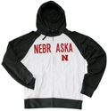 Full Zip Raglan White and Black Nebraska Hoodie Nebraska Cornhuskers, Nebraska  Mens Sweatshirts, Huskers  Mens Sweatshirts, Nebraska  Mens, Huskers  Mens, Nebraska  Zippered, Huskers  Zippered, Nebraska  Hoodies, Huskers  Hoodies, Nebraska Full Zip Raglan Black UNL Hoodie, Huskers Full Zip Raglan Black UNL Hoodie