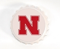 Giant Bottle Cap Bottle Opener/ Magnet Nebraska Cornhuskers, Nebraska  Tailgating, Huskers  Tailgating, Nebraska  Kitchen & Glassware, Huskers  Kitchen & Glassware, Nebraska  Game Room & Big Red Room, Huskers  Game Room & Big Red Room, Nebraska Giant Bottle Cap Bottle Opener/ Magnet, Huskers Giant Bottle Cap Bottle Opener/ Magnet