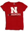 Girls I Heart Huskers Tee Nebraska Cornhuskers, Nebraska  Kids, Huskers  Kids, Nebraska  Youth, Huskers  Youth, Nebraska  Short Sleeve, Huskers  Short Sleeve, Nebraska Girls I Heart Huskers Tee, Huskers Girls I Heart Huskers Tee
