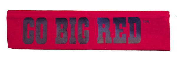 Go Big Red Headband Nebraska Cornhuskers, Nebraska  Ladies, Huskers  Ladies, Nebraska  Jewelry & Hair, Huskers  Jewelry & Hair, Nebraska  Ladies Accessories, Huskers  Ladies Accessories, Nebraska  Watches Bands & Buckles, Huskers  Watches Bands & Buckles, Nebraska Go Big Red Headband, Huskers Go Big Red Headband