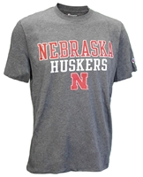 Granite Nebraska Huskers N Soft Tee Nebraska Cornhuskers, Nebraska  Mens T-Shirts, Huskers  Mens T-Shirts, Nebraska  Mens, Huskers  Mens, Nebraska  Short Sleeve, Huskers  Short Sleeve, Nebraska Granite SS Huskers Soft Champ Tee, Huskers Granite SS Huskers Soft Champ Tee