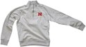 Gray Nebraska Quarter Zip Nebraska Cornhuskers, Nebraska  Mens Sweatshirts, Huskers  Mens Sweatshirts, Nebraska  Mens, Huskers  Mens, Nebraska  Zippered, Huskers  Zippered, Nebraska Gray Nebraska Quarter Zip, Huskers Gray Nebraska Quarter Zip