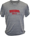 Grey Locally Grown Nebraska Tee Nebraska Cornhuskers, Nebraska  Ladies, Huskers  Ladies, Nebraska  Short Sleeve, Huskers  Short Sleeve, Nebraska  Ladies T-Shirts, Huskers  Ladies T-Shirts, Nebraska Heathered Red NU Huskers Pressbox Womens Tee, Huskers Heathered Red NU Huskers Pressbox Womens Tee