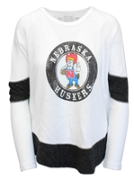 Herbie Husker Long Sleeve Boyfriend Thermal Shirt Nebraska Cornhuskers, Nebraska  Ladies T-Shirts, Huskers  Ladies T-Shirts, Nebraska  Ladies Tops, Huskers  Ladies Tops, Nebraska  Ladies, Huskers  Ladies, Nebraska  Long Sleeve, Huskers  Long Sleeve, Nebraska Boyfriend W Thermal Herbie LS Tee RB, Huskers Boyfriend W Thermal Herbie LS Tee RB