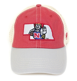 Herbie State Outline Trucker Lid Nebraska Cornhuskers, Nebraska  Mens Hats, Huskers  Mens Hats, Nebraska  Mens Hats, Huskers  Mens Hats, Nebraska Herbie State Outline Trucker Lid, Huskers Herbie State Outline Trucker Lid