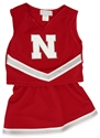 Husker 3 Piece Toddlers  Glitter Cheer Outfit Nebraska Cornhuskers, Nebraska  Childrens, Huskers  Childrens, Nebraska  Tank Tops, Huskers  Tank Tops, Nebraska  Kids Jerseys, Huskers  Kids Jerseys, Nebraska Husker 3 Piece Toddlers  Glitter Cheer Outfit, Huskers Husker 3 Piece Toddlers  Glitter Cheer Outfit