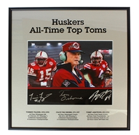 Husker All-Time Top Tom's Autographed Plaque Nebraska Cornhuskers, Nebraska  Former Players, Huskers  Former Players, Nebraska  Photos Prints & Posters, Huskers  Photos Prints & Posters, Nebraska  Prints & Posters, Huskers  Prints & Posters, Nebraska Armstrong Jr Autographed Career Print, Huskers Armstrong Jr Autographed Career Print