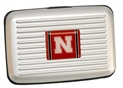 Husker Aluminum Wallet Nebraska Cornhuskers, Nebraska  Mens Accessories, Huskers  Mens Accessories, Nebraska  Bags Purses & Wallets, Huskers  Bags Purses & Wallets, Nebraska  Mens, Huskers  Mens, Nebraska  Ladies Accessories, Huskers  Ladies Accessories, Nebraska Husker Aluminum Wallet, Huskers Husker Aluminum Wallet