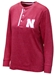Husker Brooks Boyfriend Long Sleeve Tee - AT-B6099