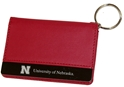 Husker Deluxe Leather ID Holder Nebraska Cornhuskers, Nebraska  Bags Purses & Wallets, Huskers  Bags Purses & Wallets, Nebraska  Mens Accessories, Huskers  Mens Accessories, Nebraska  Ladies Accessories, Huskers  Ladies Accessories, Nebraska Husker Deluxe Leather ID Holder, Huskers Husker Deluxe Leather ID Holder