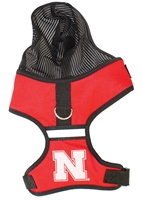 Husker Doggy Harness Nebraska Cornhuskers, Nebraska Pet Items, Huskers Pet Items, Nebraska Husker Pet Harness, Huskers Husker Pet Harness