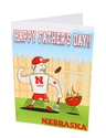 Husker Fathers Day Card Nebraska Cornhuskers, Nebraska  Novelty, Huskers  Novelty, Nebraska  Holiday Items, Huskers  Holiday Items, Nebraska Husker Fathers Day Card, Huskers Husker Fathers Day Card