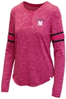 Husker Gals Speckled Henley Top Nebraska Cornhuskers, Nebraska  Ladies T-Shirts, Huskers  Ladies T-Shirts, Nebraska  Ladies Tops, Huskers  Ladies Tops, Nebraska  Ladies, Huskers  Ladies, Nebraska Husker Gals Speckled Henley Top, Huskers Husker Gals Speckled Henley Top