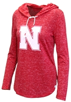 Husker Gals Speckled Swizzle Hoodie Nebraska Cornhuskers, Nebraska  Ladies T-Shirts, Huskers  Ladies T-Shirts, Nebraska  Ladies Tops, Huskers  Ladies Tops, Nebraska  Ladies, Huskers  Ladies, Nebraska Husker Gals Speckled Swizzle Hoodie, Huskers Husker Gals Speckled Swizzle Hoodie