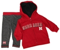 Husker Girls Nebraska Glitter Jacket N Legging Set Nebraska Cornhuskers, Nebraska  Childrens, Huskers  Childrens, Nebraska  Infant, Huskers  Infant, Nebraska Husker Girls Nebraska Glitter Jacket N Legging Set, Huskers Husker Girls Nebraska Glitter Jacket N Legging Set