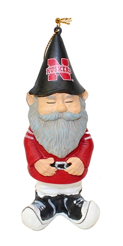 Husker Gnome Ornament Nebraska Cornhuskers, Nebraska  Holiday Items, Huskers  Holiday Items, Nebraska Husker Gnome Ornament, Huskers Husker Gnome Ornament